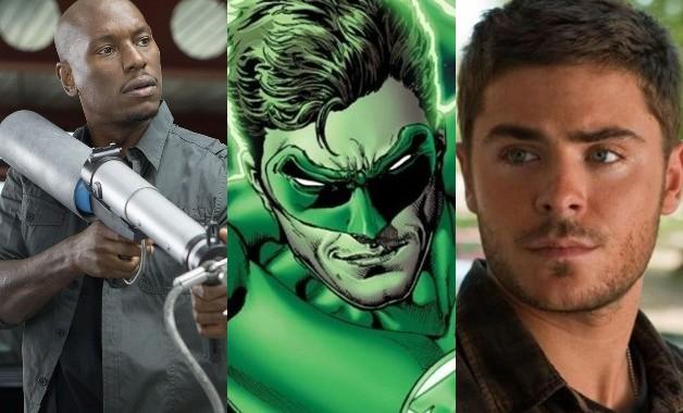 Green Lantern Tyrese Gibson Zac Efron