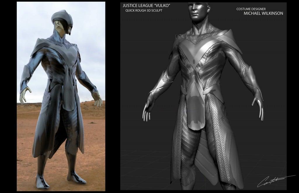 Justice League Vulko Concept Art 3