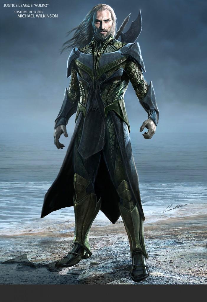 Justice League Vulko Concept Art