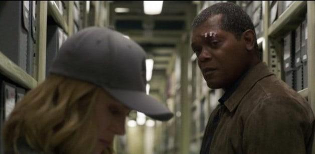 Marvel Captain Marvel Samuel L. Jackson Brie Larson Nick Fury