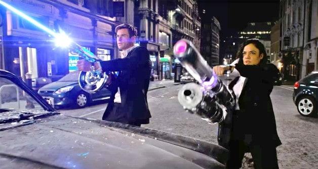 Homens em preto internacional Sony Trailer