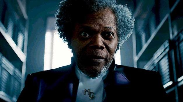 Marvel DC Films Samuel L Jackson Glass Ending