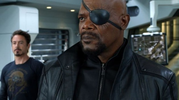 Samuel L. Jackson Nick Fury The Avengers Marvel