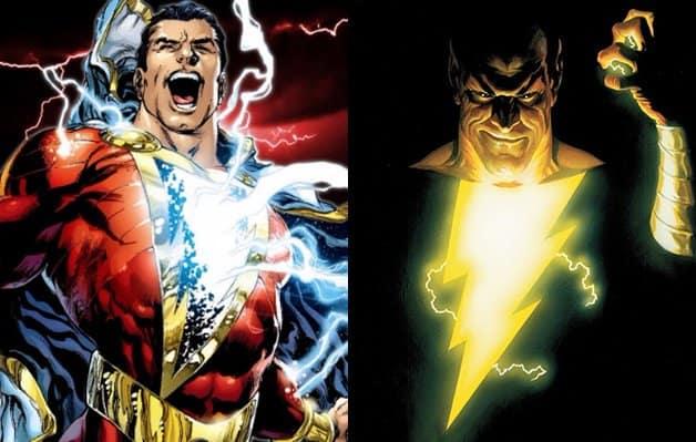 Shazam Black Adam Doctor Sivana DC Fan Art
