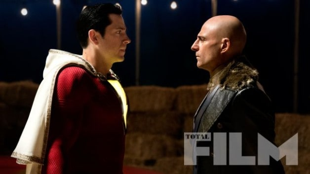 Shazam Image Zachary Levi Doctor Sivana Mark Strong
