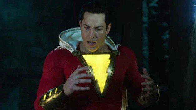 Shazam! Zachary Levi DC Batman Superman