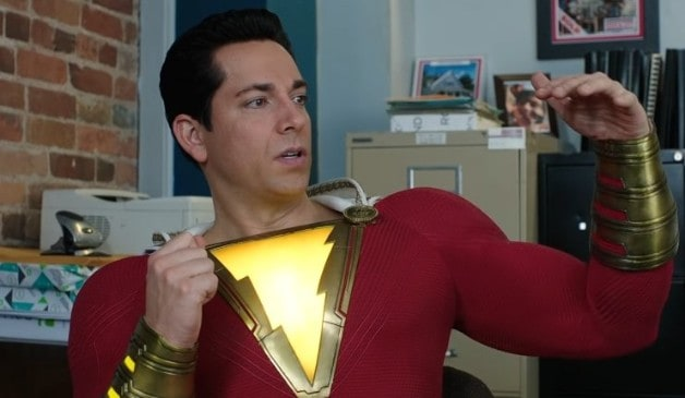 Warner Bros Shazam! Zachary Levi Man of Steel DC Billy Batson Injustice