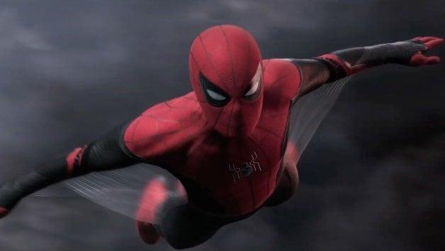 Homem-aranha longe de casa Tom Holland
