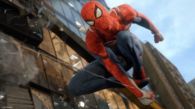 Fantastic Four Marvel Games Spider-Man PS4