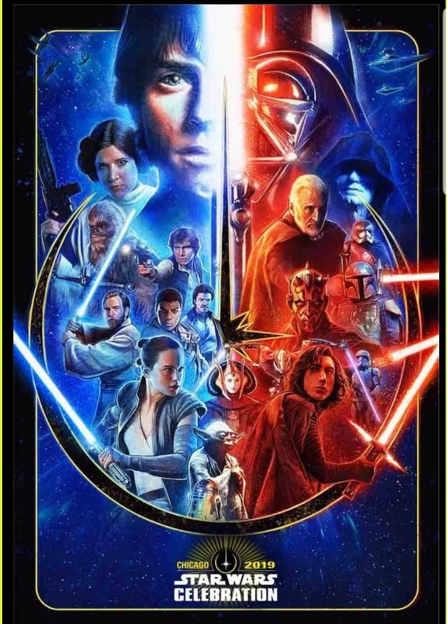 Star Wars 2019 Celebration Poster