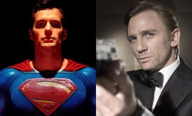 Superman Henry Cavill James Bond Casino Royale