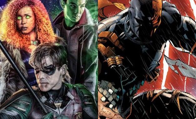 Teen Titans Deathstroke Ravager Jericho DC Universe