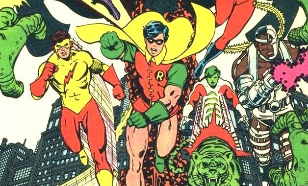 Teen Titans George Pérez DC Comics
