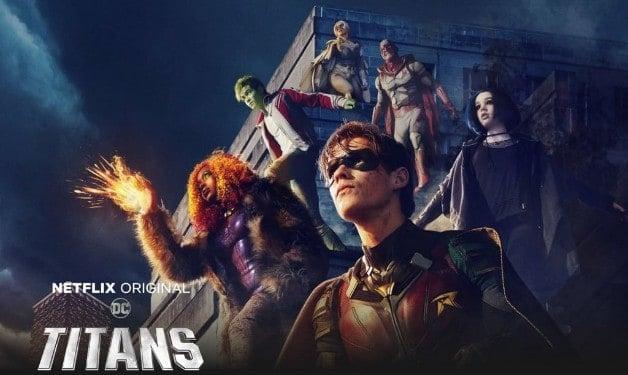 Titans DC Universe Banner