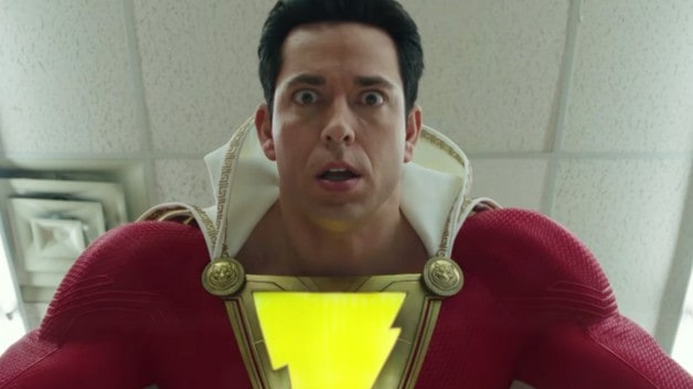 Billy Batson Zeus Warner Bros. Pictures DC Shazam Zachary Levi Ghostbusters