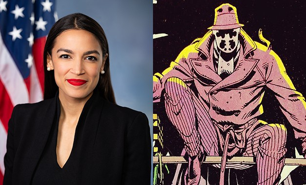 Alexandria Ocasio-Cortez Quotes 'Watchmen's' Alan Moore, Slays Nerd Hearts