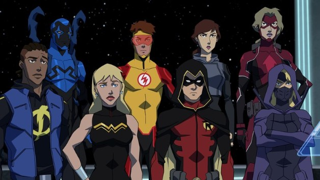 Young Justice Outsiders Batman DC Universe