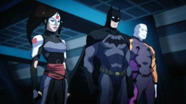 Young Justice Outsiders Batman Katana