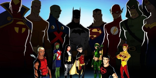 Nightwing Young Justice Outsiders Justice League Season 3 Captain America