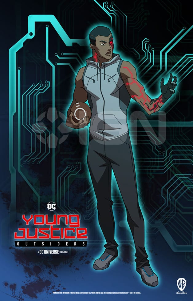 Young Justice Outsiders Cyborg DC Universe