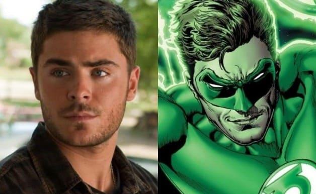 Zac Efron Green Lantern DC Comics