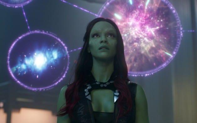 Zoe Saldana Gamora Guardians of the Galaxy