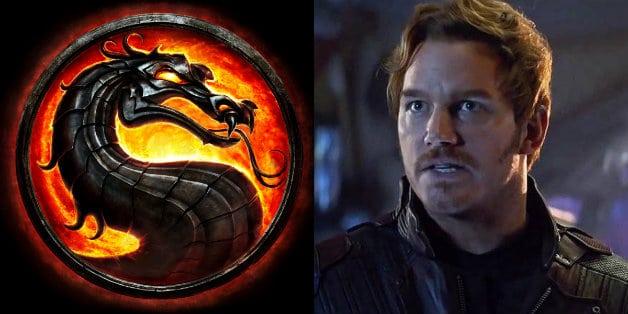 Avengers Chris Pratt Mortal Kombat