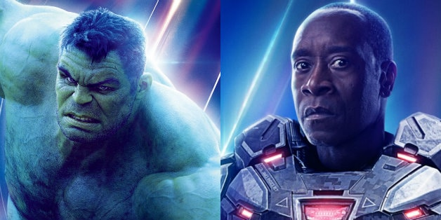 Mark Ruffalo Amp Don Cheadle Seen On Avengers Endgame