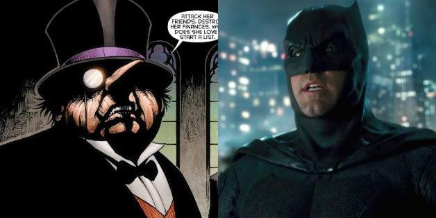 Batman Ben Affleck Pinguim Matt Reeves