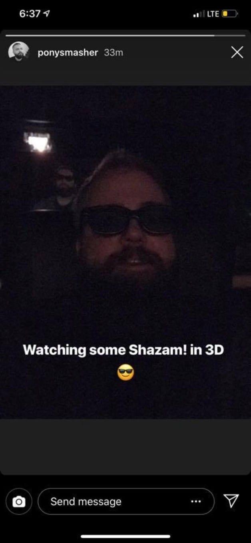 Shazam David F Sandberg DC 3D Screening