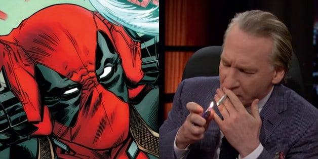 Deadpool Rob Liefeld Bill Maher
