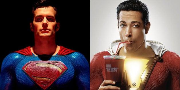 Henry Cavill Superman Zachary Levi Shazam Ben Affleck Batman David F. Sandberg