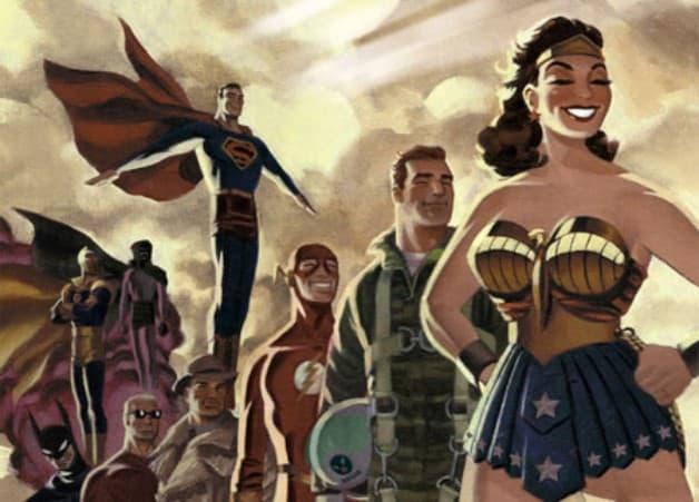 Clint Easwood James Dean Justice League