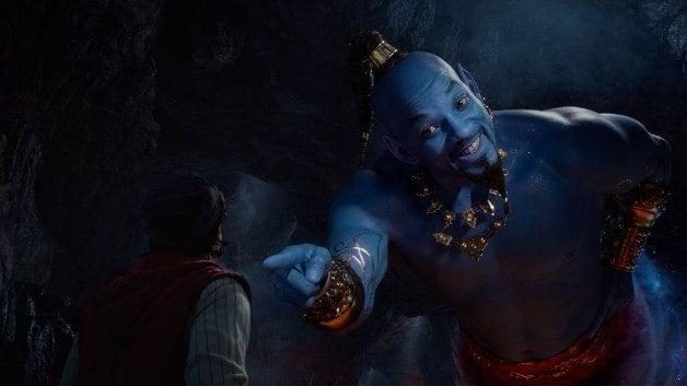 Aladdin Genie Will Smith Naomi Scott