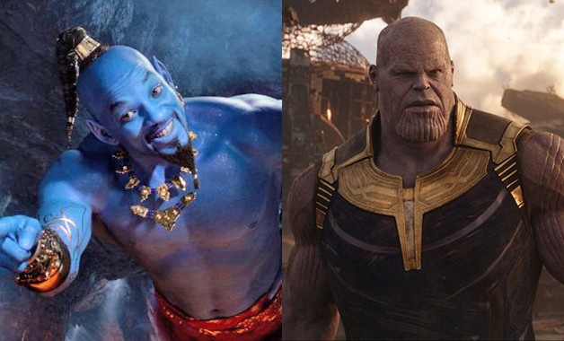 Aladdin Avengers Will Smith Genie Thanos