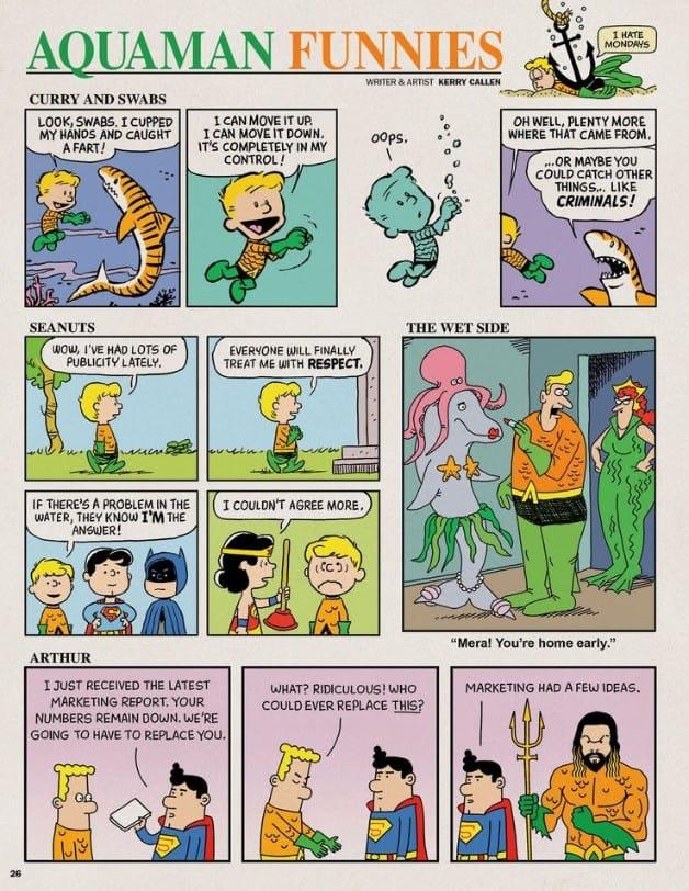 Aquaman MAD Magazine Jason Momoa
