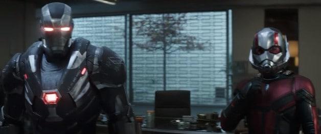 Avengers Endgame War Machine Ant-Man