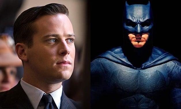 Armie Hammer Ben Affleck The Batman