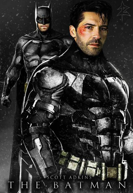Ben Affleck Scott Adkins Batman DCEU