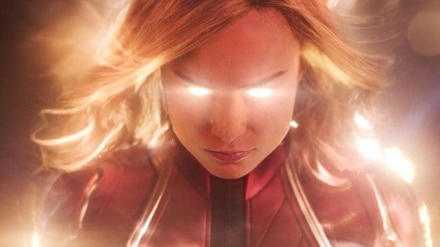 Captain Marvel Brie Larson Avengers: Endgame