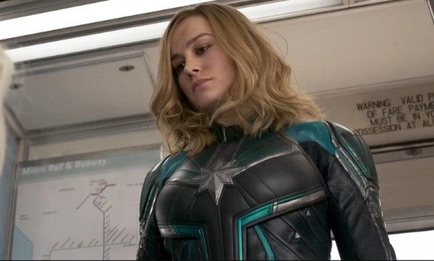 Captain Marvel Avengers: Endgame Terminator Robocop