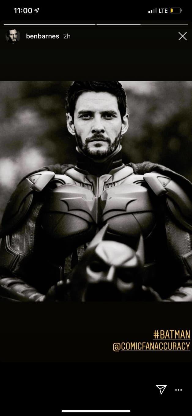 DCEU Ben Affleck Ben Barnes Batman