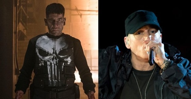 Eminem Netflix Marvel Punisher