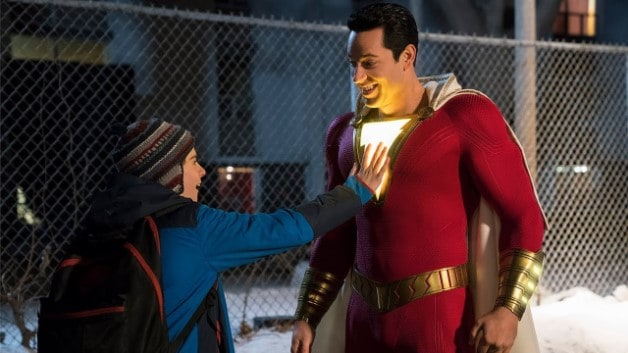 'Shazam!' Star Zachary Levi Surprises A Fan With Hilarious Appearance