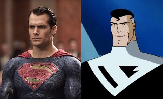 Henry Cavill Superman Batman Beyond