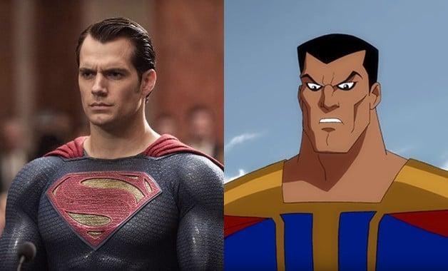 Henry Cavill Superman Ultraman DC Comics