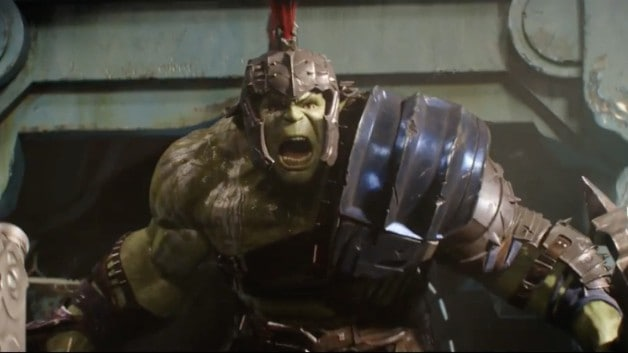 Hulk Thor Ragnarok Sakaar