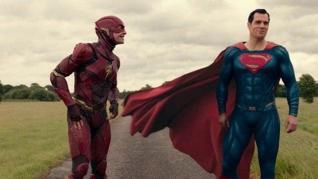Justice League Ezra Miller The Flash Henry Cavill Superman The Flash