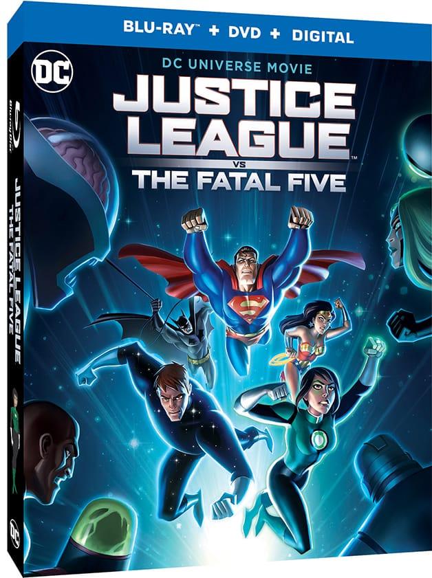 Justice League vs The Fatal_Five