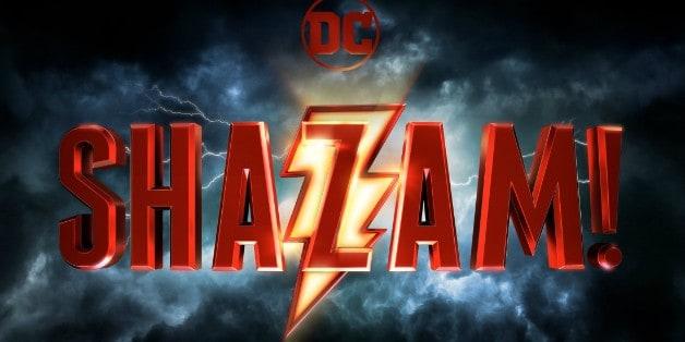 Shazam Zachary Levi Movie Logo